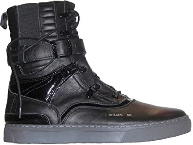 Godspeed Military Style Men\u0027s Designer Combat Leather Tall Boots Black Size  7 to 13