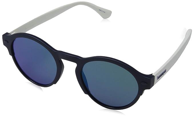 Havaianas Caraiva Gafas de sol, Multicolor (Bluewhite), 51 ...