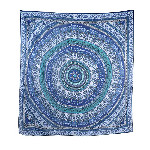 Leegoal Popular Mandala Tapestry Tablecloth