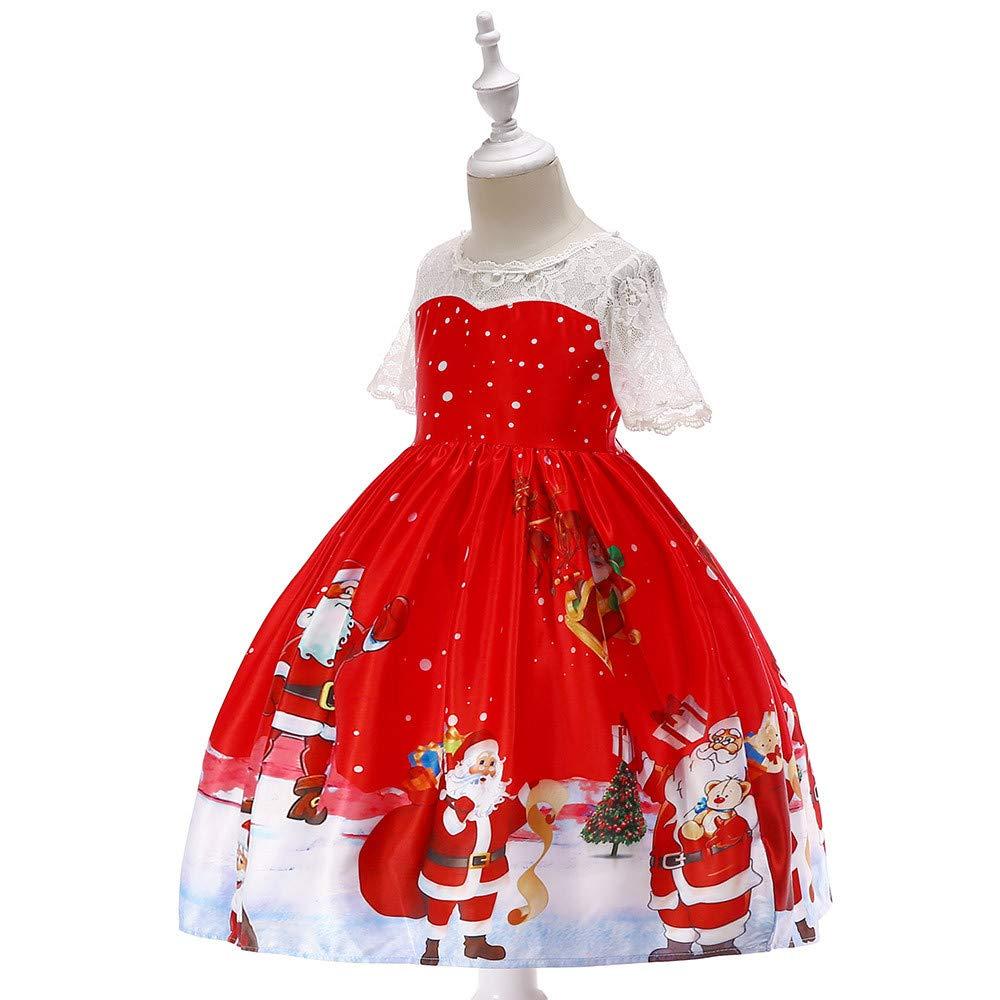 7a4007d4ba Amazon.com  morecome Toddler Christmas Dresses