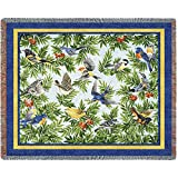 Pure Country Songbirds Tapestry Throw Blanket