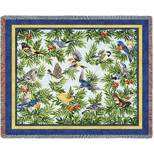 Pure Country Songbirds Tapestry Throw Blanket by Pure Country (Image #1)