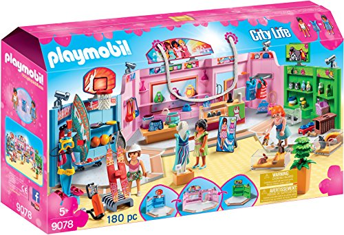 PLAYMOBIL Shopping Plaza Building - Plaza The Stores