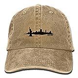 Lichang New York Skyline Silhouette Boy Gilr Punk New Cowboys Hip Hop Adjustable Hat For Gift