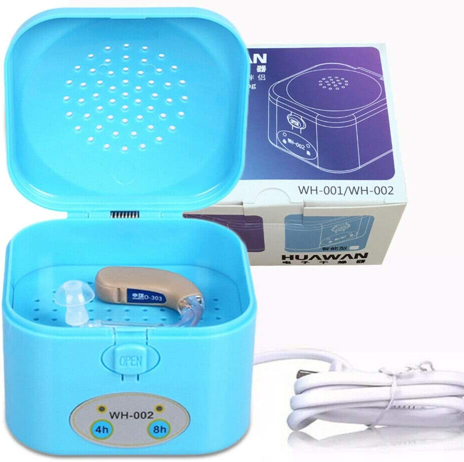4/8 Hour Timer Hearing Aid Dryer Case Electric Drying Dehumidifier ...