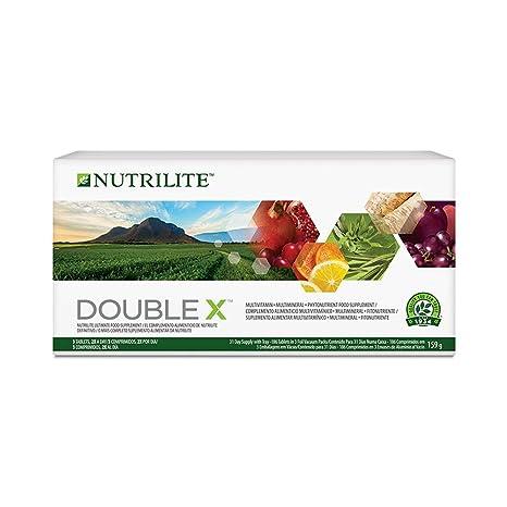 Complemento Alimenticio Multivitamínico/ Multimineral/ Fitonutriente DOUBLE XTM NUTRILITETM- Con un aroma herbal agradablemente fresco, el Complemento ...