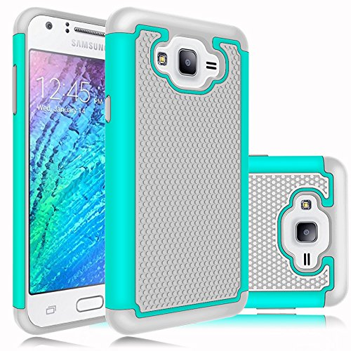 Slim Shockproof Case for Samsung Galaxy J7 (Grey) - 6