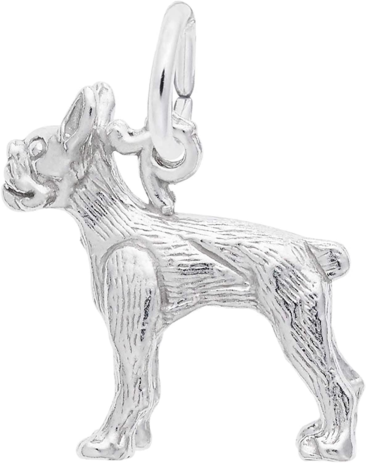 Rembrandt Charms Boston Terrier Charm