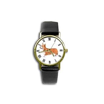 Amazon.com: Corgi galés de peluche (Pembroke) Watch (perro ...