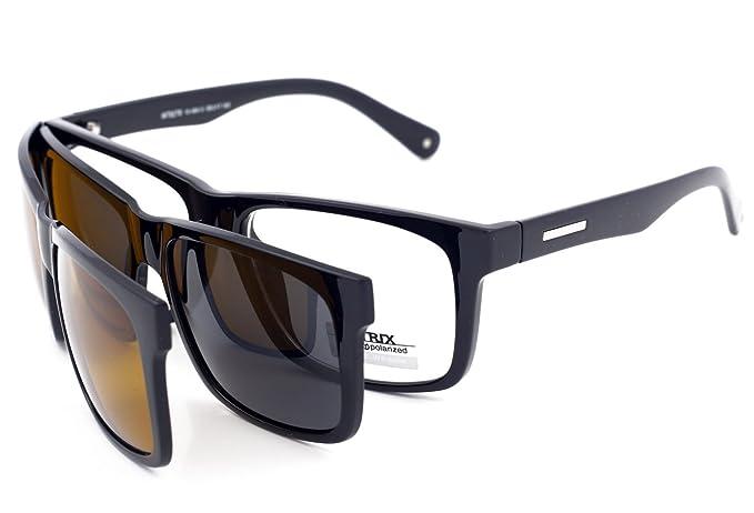 Matrix Drive - Gafas de sol - para hombre Negro Negro (M ...