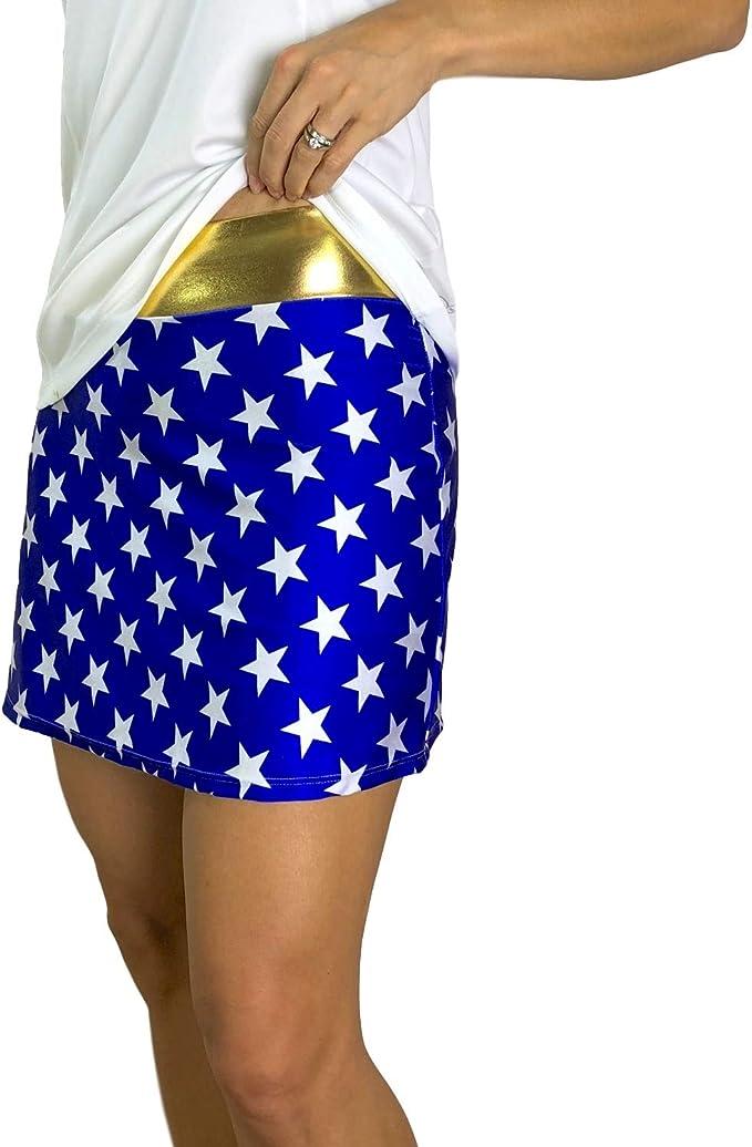 Smash Dandy Wonder Woman Disfraz de Falda atlética de Estilo ...