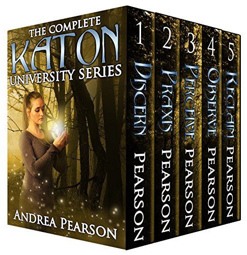 Adults young and old will enjoy Andrea Pearson's adventure fantasy series The Complete Katon University Series! At a fantastic price of 99 cents for the complete set!