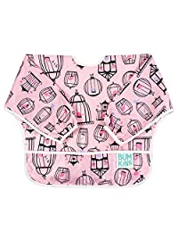 Bumkins Waterproof Sleeved Bib, 6-24 Months, Tweet