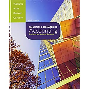 Financial & Managerial Accounting with Connect Plus (Hardcover)