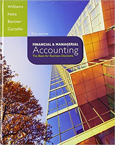 Financial managerial accounting with connect plus jan williams financial managerial accounting with connect plus 17th edition fandeluxe Image collections