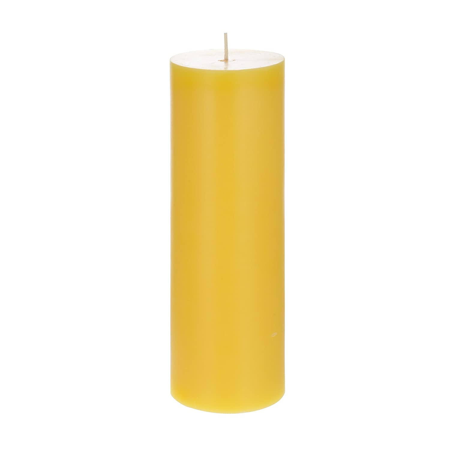 Bug Repellent Candles For Indoor And Outdoor Use Mega Candles 6 pcs Citronella Round Pillar Candle Hand Poured Paraffin Wax Candles 3 x 9 Everyday Candles For Mosquitoes And Insects
