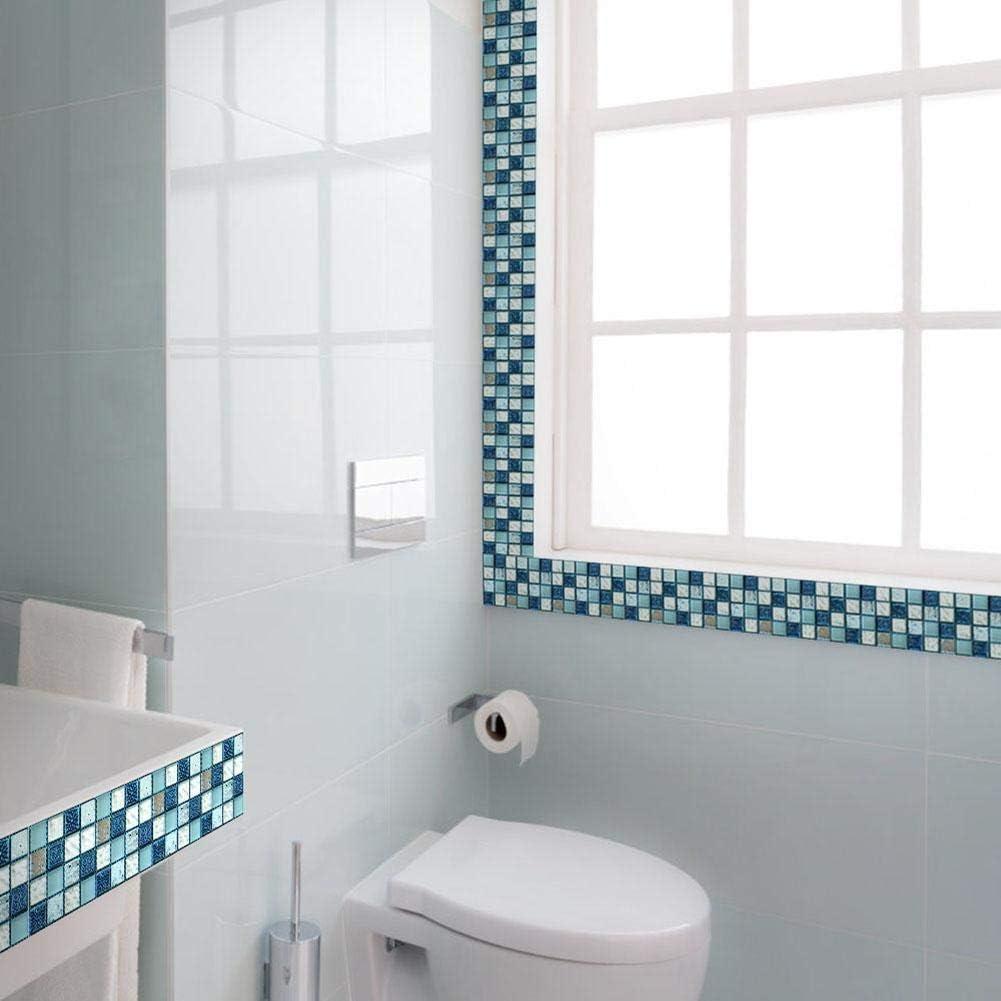 Zeagro 20PCS Wall Tile Transfers Stickers Self Adhesive Waterproof ...