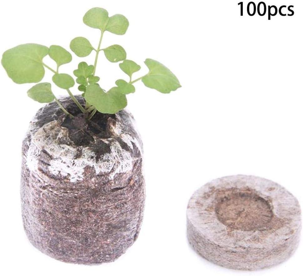 LIUKLAI Bloque de nutrientes vivero de turba Fertilizante Rico en vivero Rico en Suelo mágico-A