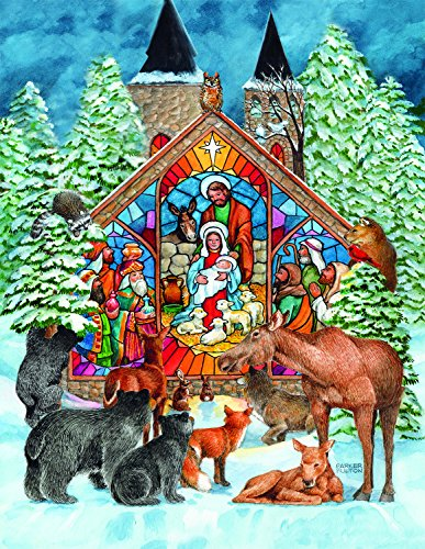 All Will Adore Him 500 Piece Jigsaw Puzzle by SunsOut