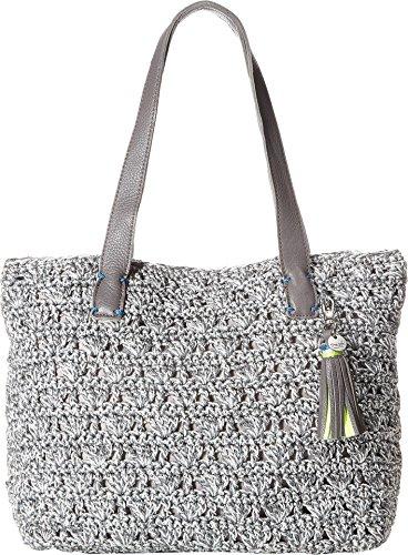 The Sak Women's Fairmont Tote Silver One Size - 1 Silver Handbag