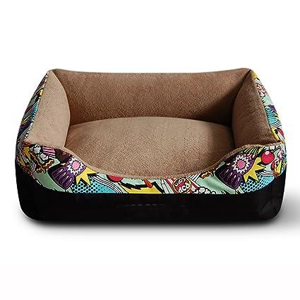 Suministros para camas Cama para Perro Cama para Gato Cama de Mascota Suave Sofá Cesta/