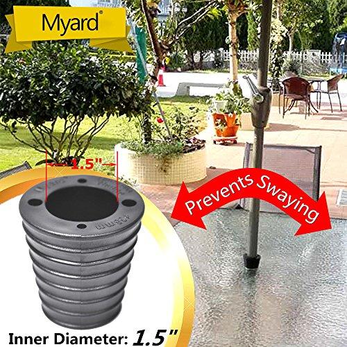 MYARD Umbrella Spacer Opening Diameter