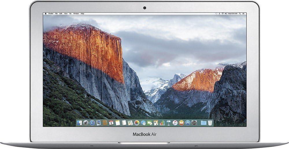 Apple MacBook Air MJVM2LL/A 11.6-Inch Flagship Laptop (1.4GHz Intel Core i5 Dual-Core up to 2.7GHz, 4GB RAM, 128GB SSD, Wi-Fi, Bluetooth 4.0) (Renewed)
