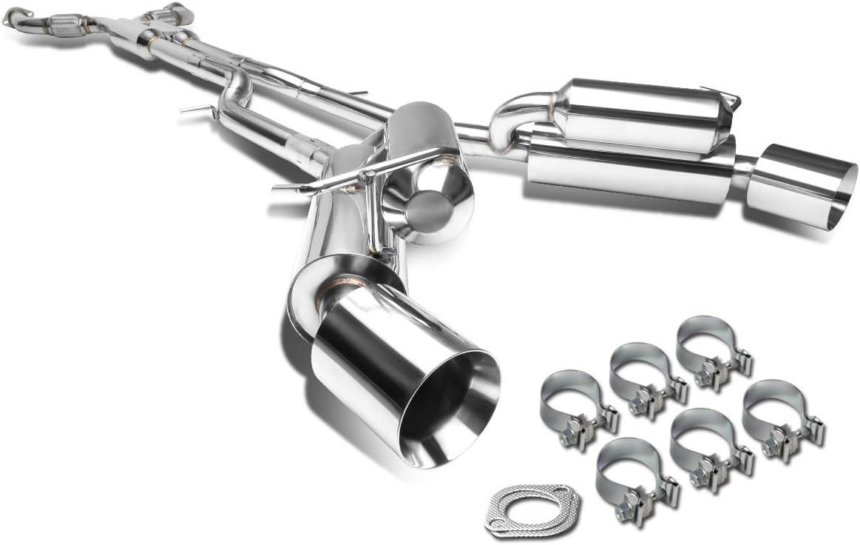 DNA Motoring CBE-370Z-D-T3 Muffler Catback Exhaust System