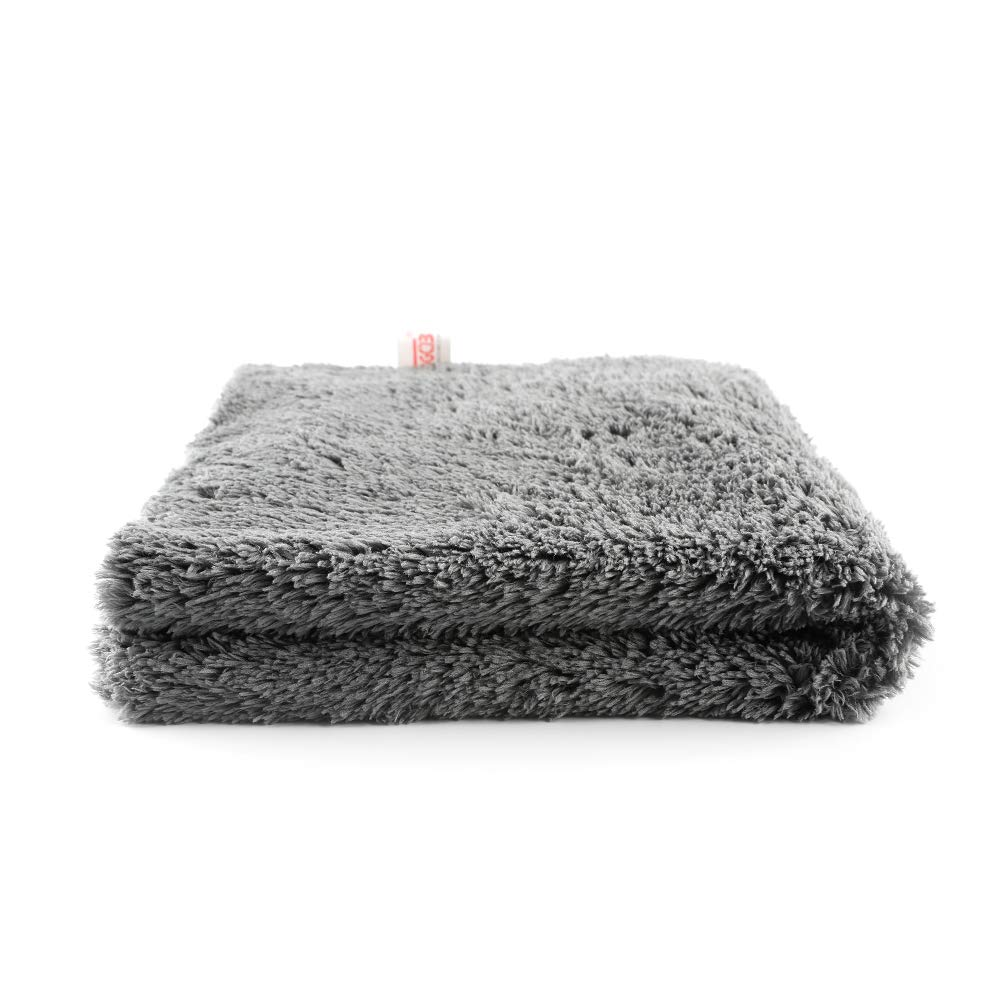 """SGCB Waffle Weave Drying Microfiber Towel 24/""""x47/"""" Auto Car Wash Detailing Towel Silky Soft Edge Lint Streak Free Waffle Close-Knit Towel Cleaning Cloth for Glass Mirror LCD Screen Cleaning"""