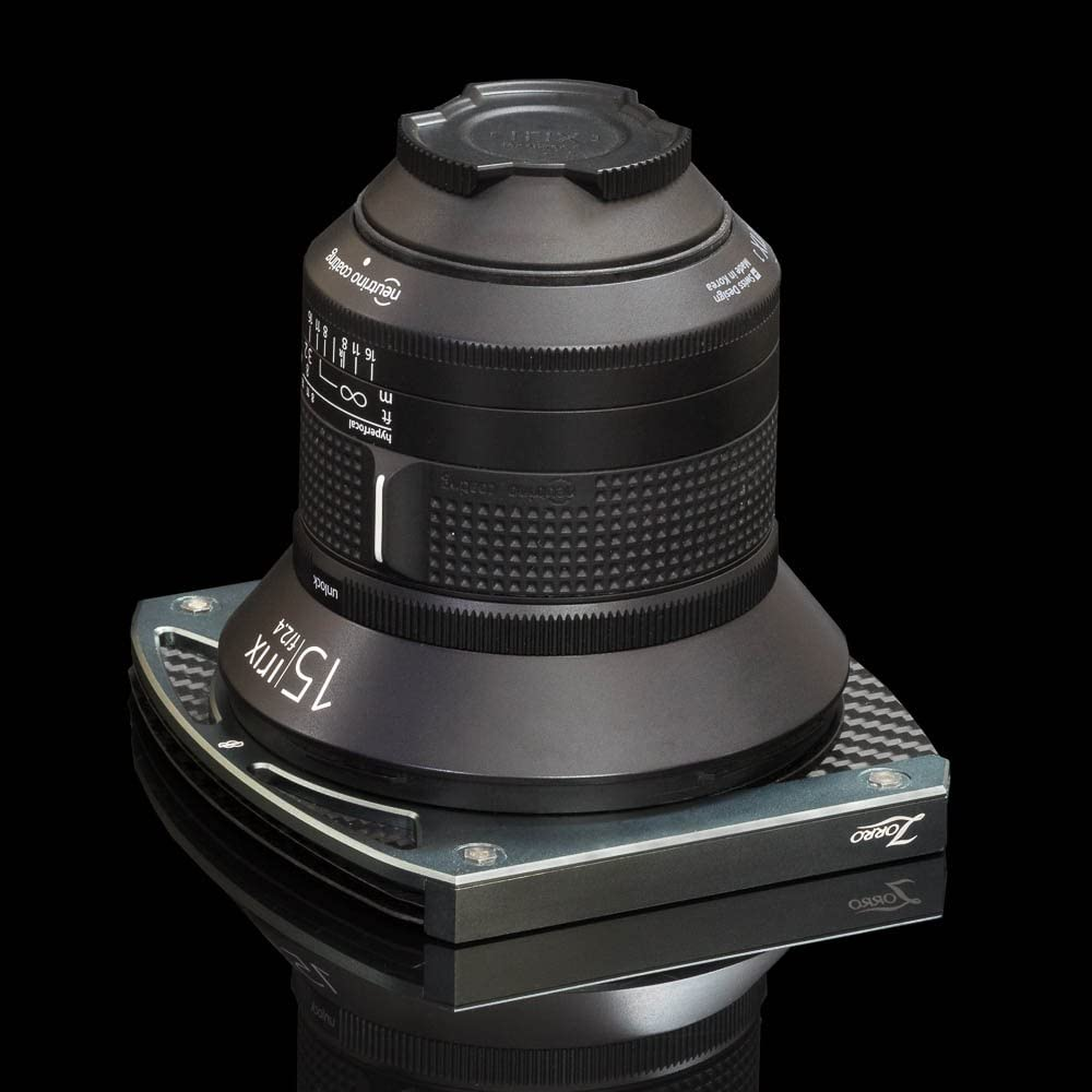Zorro Silver Filter Holder for Irix 15mm f//2.4 ADR95//S 2 x100mm Filters NO vigneting