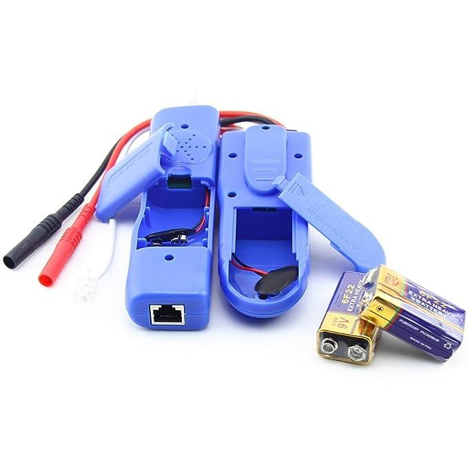 Swiftswan Probador del Sniffer del Alambre del Inspector del Cable de la Red NF-889 Rastreador del Cable RJ45 RJ11: Amazon.es: Deportes y aire libre