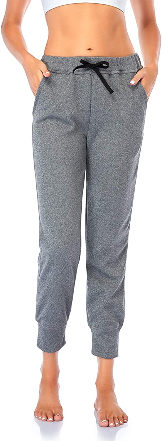 Found My Place Womens Winter Casual Elastic Waist Trousers Cuffed Jogger Sweatpants