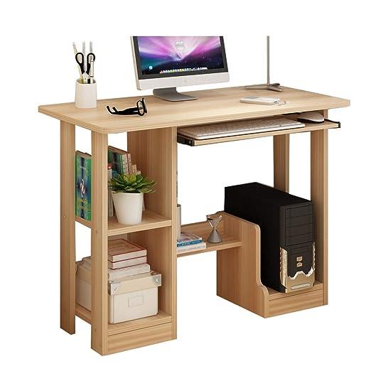 JQMKKZZ Escritorio de la computadora Mesa del hogar Mesa Simple y ...