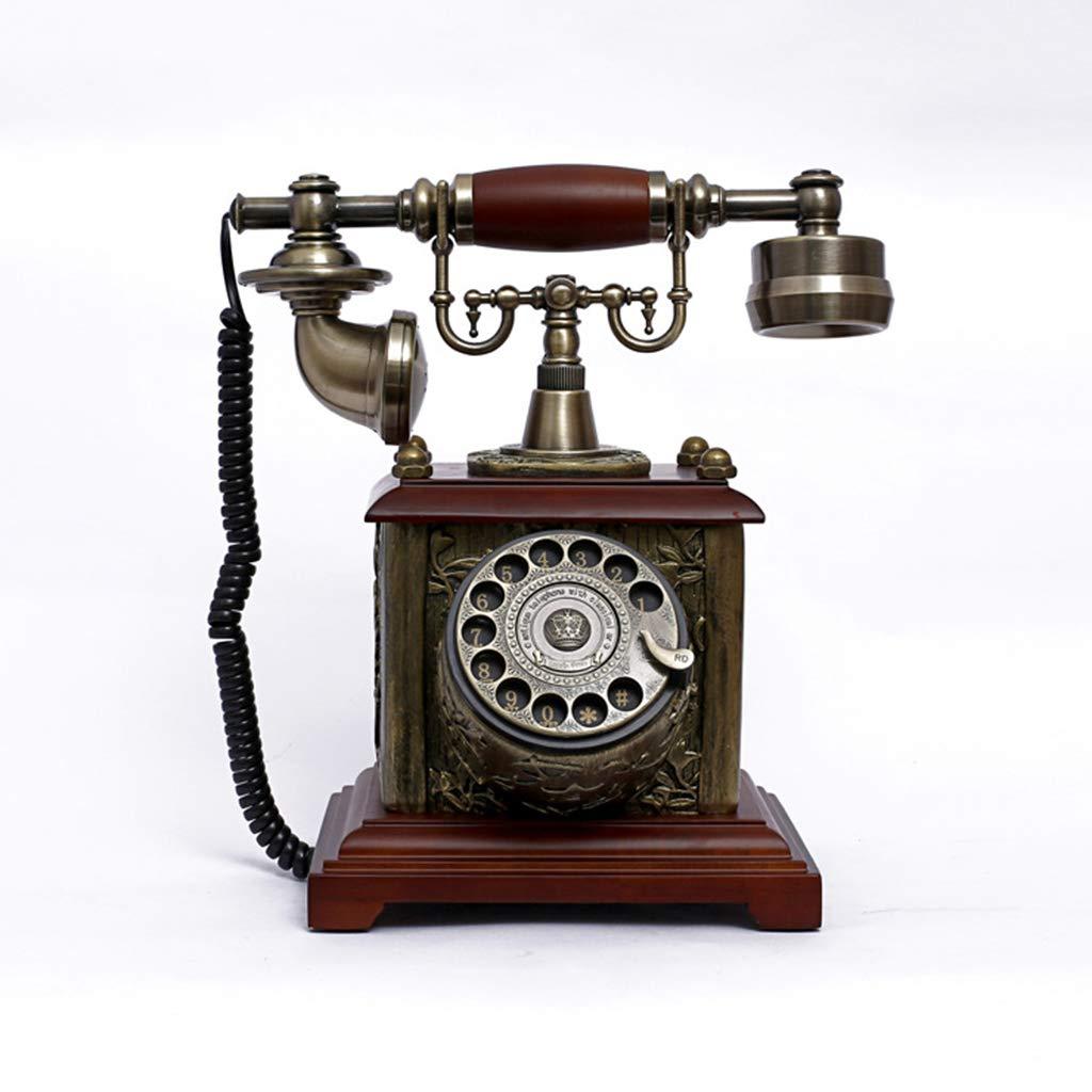 LIZHONGXUAN Tocadiscos De Teléfono Antiguo Retro De Estilo ...