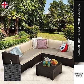 Keter diseño de ratán muebles de jardín Provence juego de sofá en ...