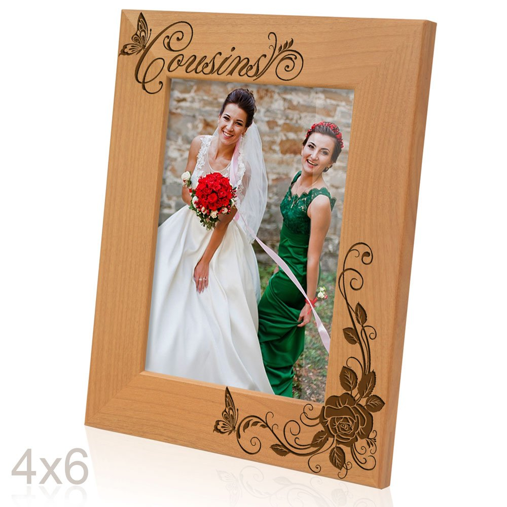 Amazon kate posh cousins picture frame 4x6 vertical jeuxipadfo Choice Image
