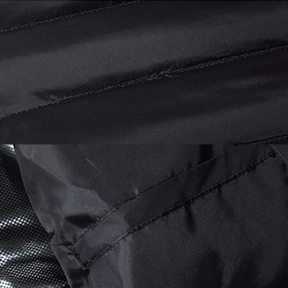 LeKing Piumino Elettrico da Donna riscaldato Cappotto riscaldato a 3 Livelli Termostato USB Ricaricabile Cappotto Invernale Caldo per Bicicletta allaperto//Sci//Motocicletta//Pesca sul Ghiaccio