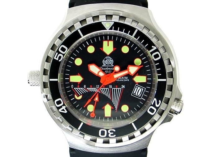 Reloj Sumergible alemán con segundero retrogada Tauchmeister