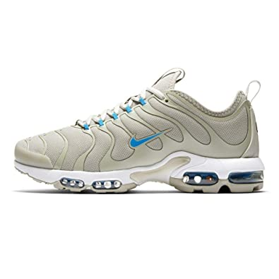 new product dc5a1 e46b6 Nike Air Max Plus TN Tuned Ultra 875844-100 White Pale Grey White Photo  Blue  Amazon.co.uk  Shoes   Bags