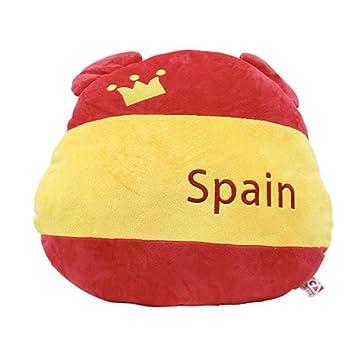 EASTVAPS Bandera de España Oso Bandera Abanico Felpa ...