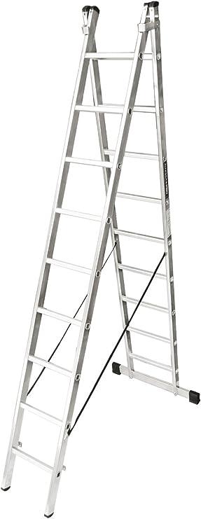 ALTIPESA 1 Escalera de aluminio de 2 tramos transformable 2x7 pelda&ntildeos fabricada en ESPA&NtildeA (EN 131), Standard: Amazon.es: Bricolaje y herramientas