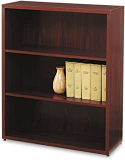product image for HON 105533NN 10500 Series Laminate Bookcase, Three-Shelf, 36w x 13-1/8d x 43-3/8h, Mahogany