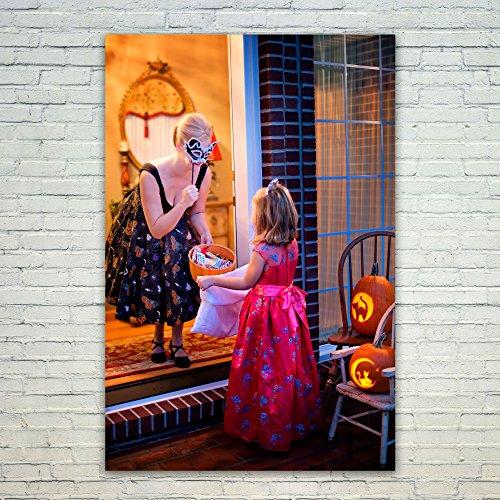 Westlake Art Poster Print Wall Art - Room Purple - Modern Picture Photography Home Decor Office Birthday Gift - Unframed - (New York's Village Halloween Parade)