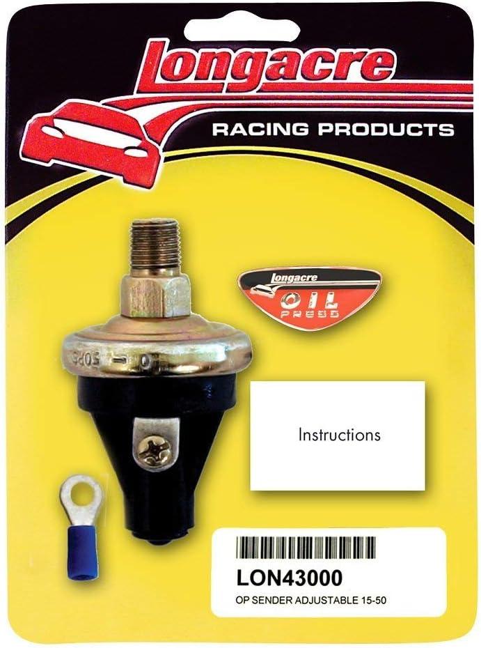 Longacre Racing 52-43000 OP Sender Adjustable 15-50