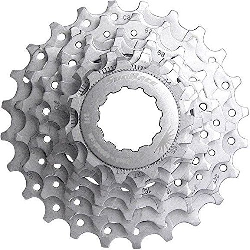 SunRace 8 Speed Road Bike Cassette (Shimano or Sram) Compatible 12-25 by SunRace (Image #1)