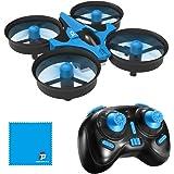 REDPAWZ H36 Mini Drone Quadcopter 2.4G 4CH 6 Assi Modalità Headless Telecomando Nano Quadcopter RTF Mode 2, Blu