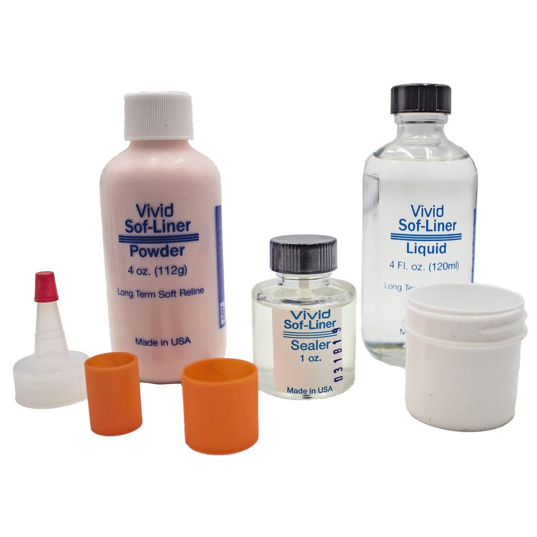 Vivid Soft Liner Standard Package - Long Term Soft Denture Liner