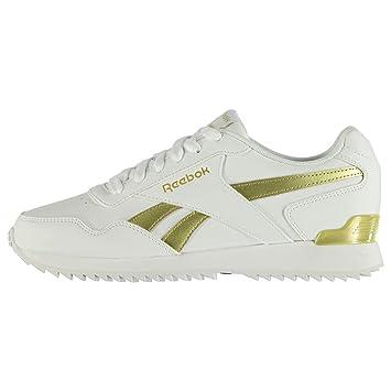 Reebok Glide Rip para zapatillas para mujer blanco/oro Zapatillas deporte zapatos calzado, Blanco y dorado, (UK6) (EU39) (US8.5): Amazon.es: Deportes y aire ...