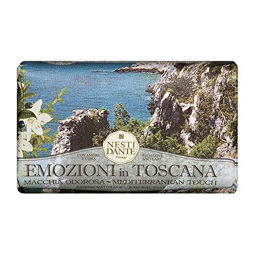Sabonete Barra Emozioni in Toscana Toque Mediterrâneo, Nesti Dante, Natural