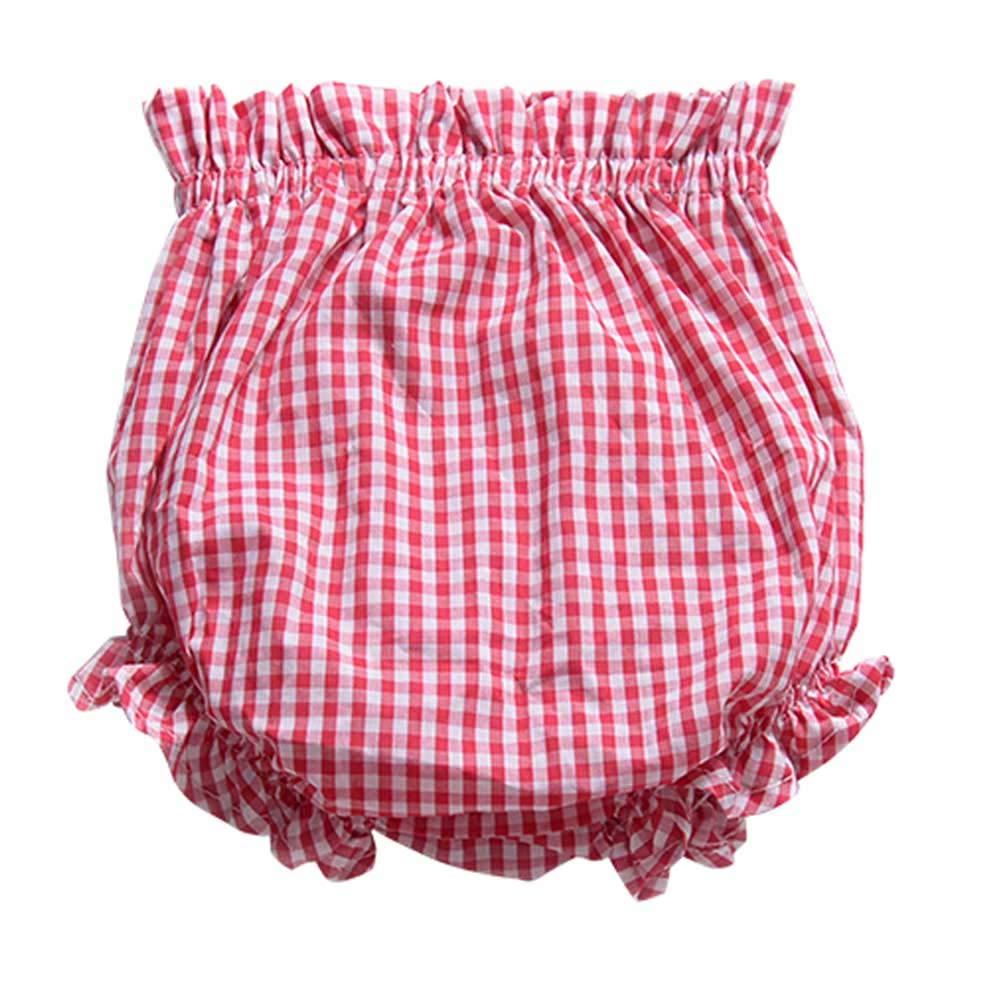 Hongyuangl Baby Girls Bloomers Training Pants Ruffle Panty Diaper Covers Underwear Shorts Toddler Kids